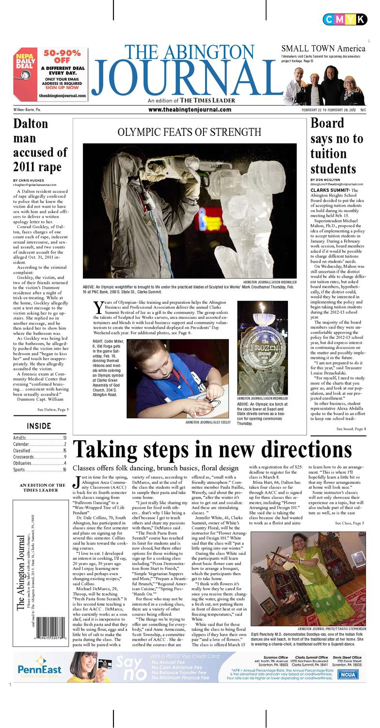 The Abington Journal 02 22 2012 By The Wilkes Barre Publishing