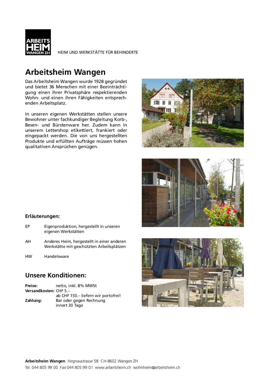 Sortimentskatalog AHW 2012 by Pascal Kielholz - issuu