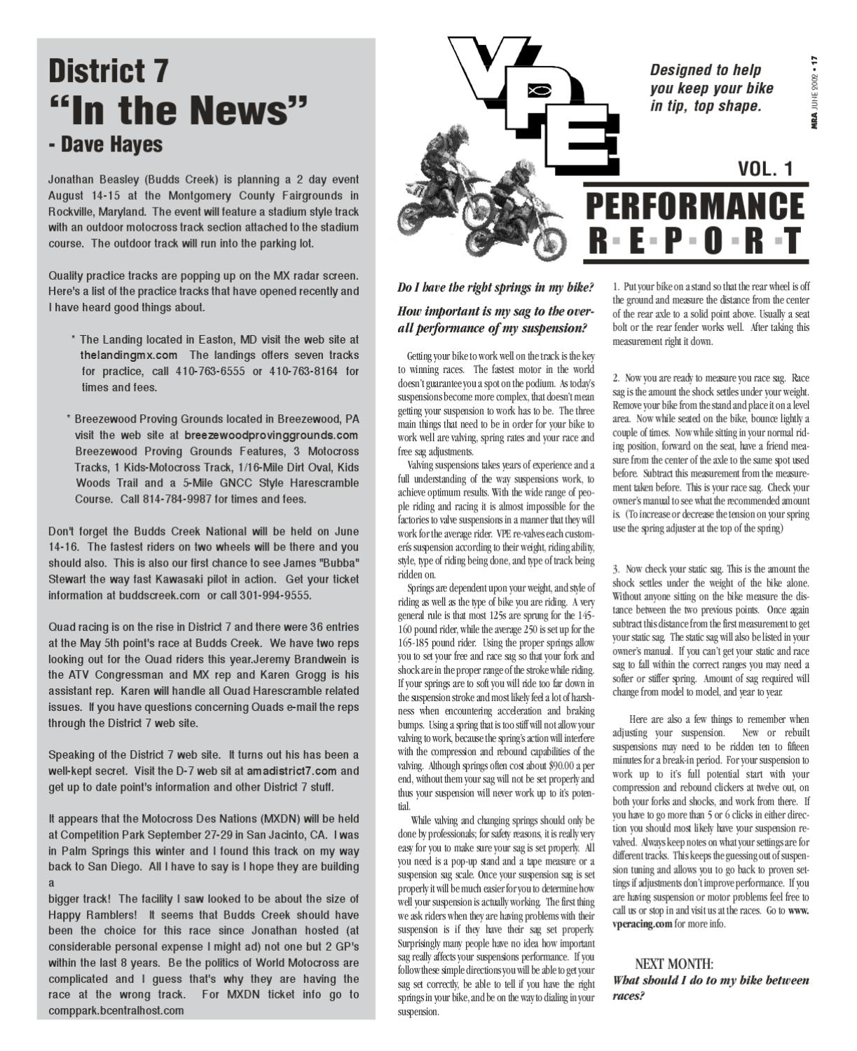 MRA June 2002 by Motorcycle Racing Action - issuu