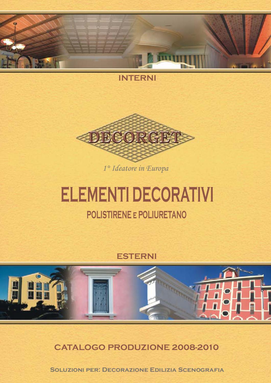 Catalogo cornici elementi per interni by arcolori arcolori for Elementi divisori per interni