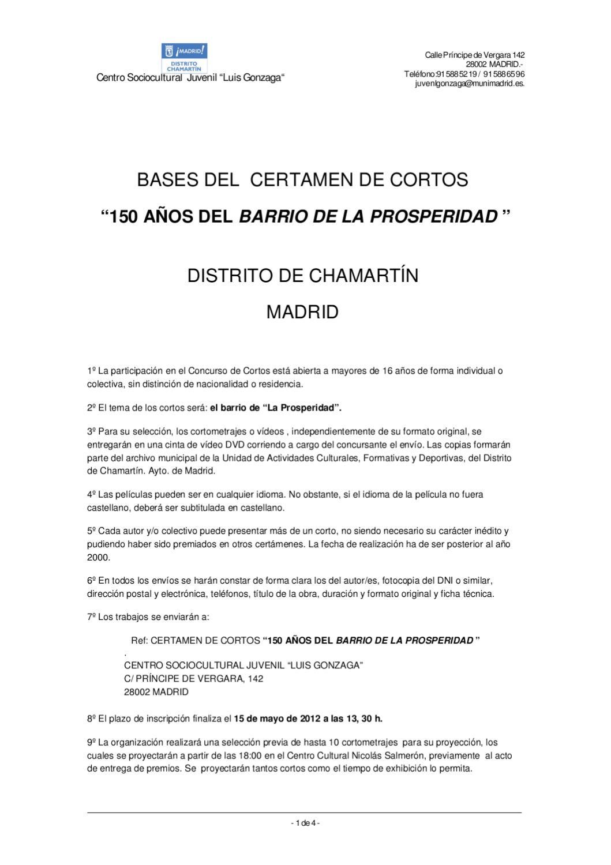 Bases cortos y fotografía by Oficina de Informacion Juvenil ...