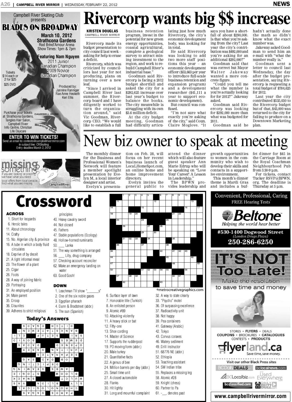 Free Online Mirror Crosswords The Best Free Crossword Puzzles To