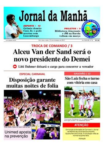 jornaldamanhaijui21.02.12 by Classificados Jornal da Manhã - issuu bf6026157c555