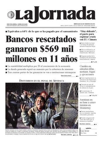 MIÉRCOLES 22 DE FEBRERO DE 2012 MÉXICO fe0f1cebf64