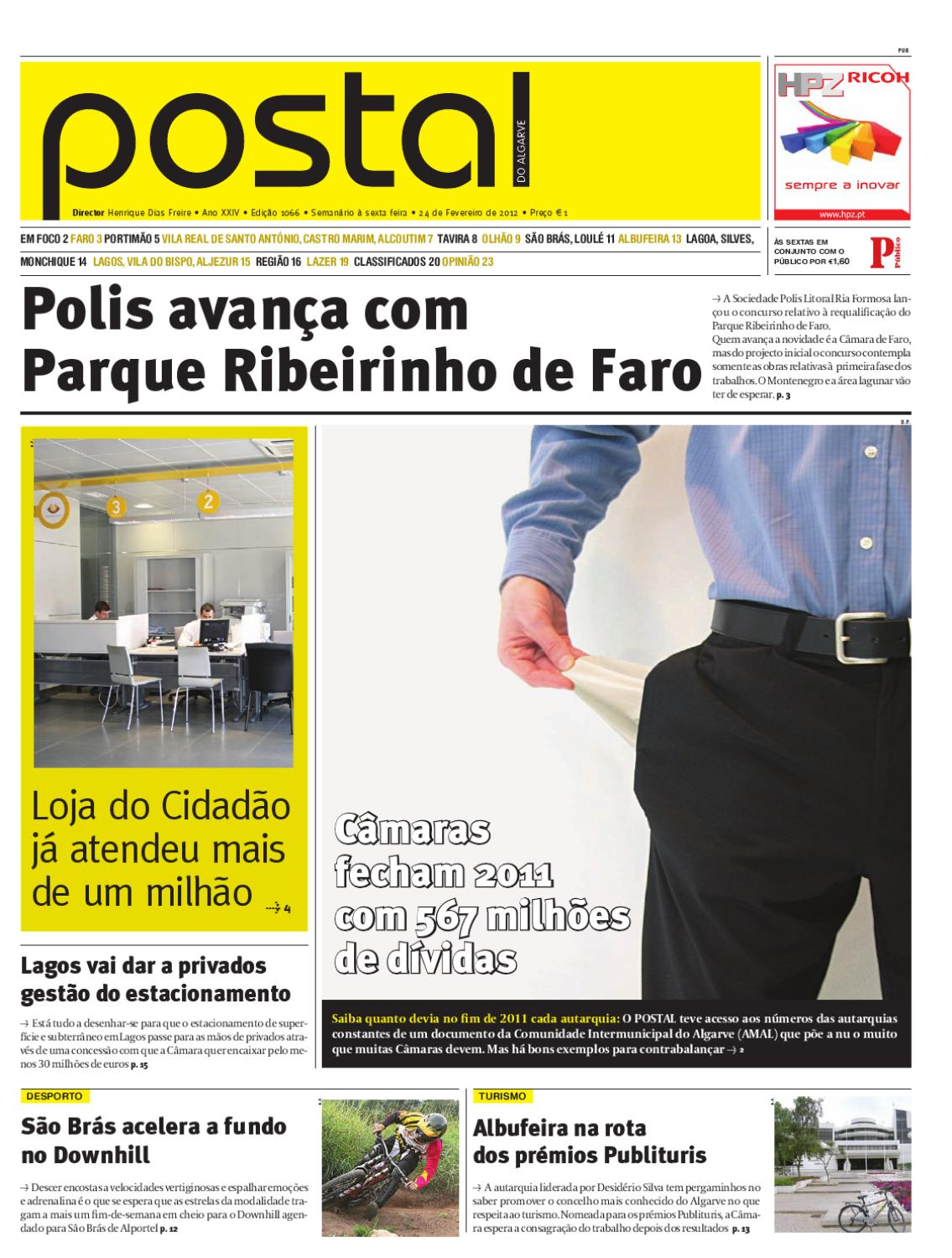 Postal24Fev1066 by POSTAL do ALGARVE - issuu bf62d45dea