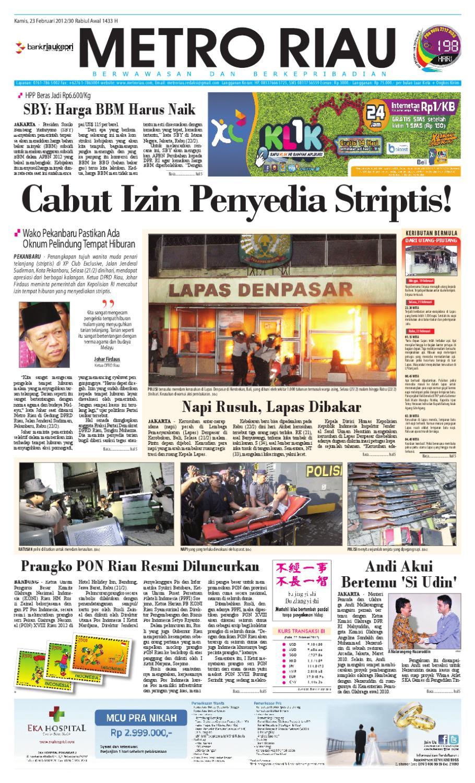 Metro Riau 23 02 2012 By Harian Pagi Issuu Mercedes Benz S 400 Tahun 20016 Karpet Mobil Comfort Deluxe 12mm Car Mat Full Set