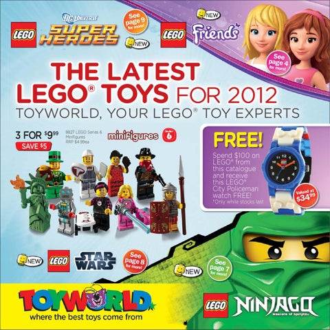 Toyworld Lego Catalogue by Associated Retailers Ltd - issuu