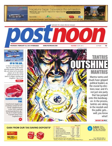 Postnoon E-Paper for 23 February 2012 by Scribble Media
