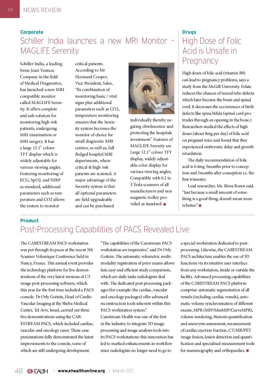 eHEALTH-Mar-2011-[48]-News Review by eHealth Magazine - Elets