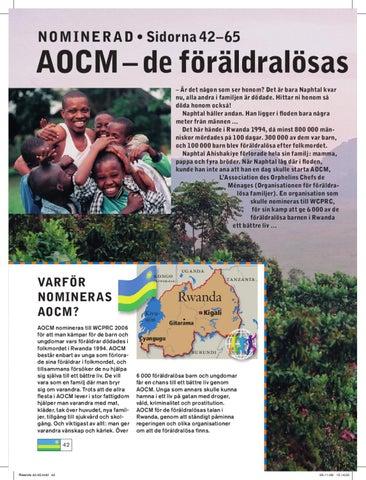 Rwanda 400 000 flyktingar ska hem