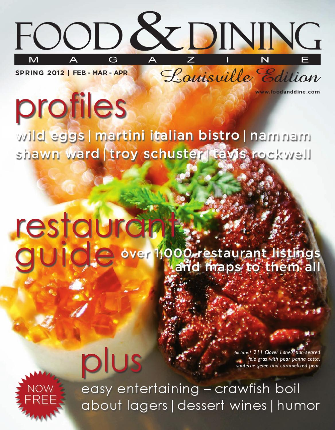 Spring 2012 Vol 35 By Food Dining Magazine Issuu Dual Circuit Led Style Small Silver Bullets W Amber Bulbs 1610
