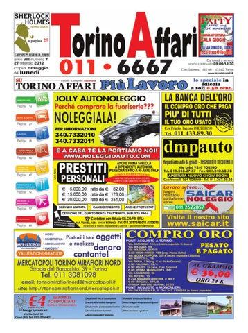 206827e508 Torino Affari edizione free 07 by Giuseppe Contegreco - issuu