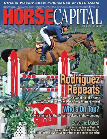 Horse Capital Digest February 23, 2012 by Florida Equine