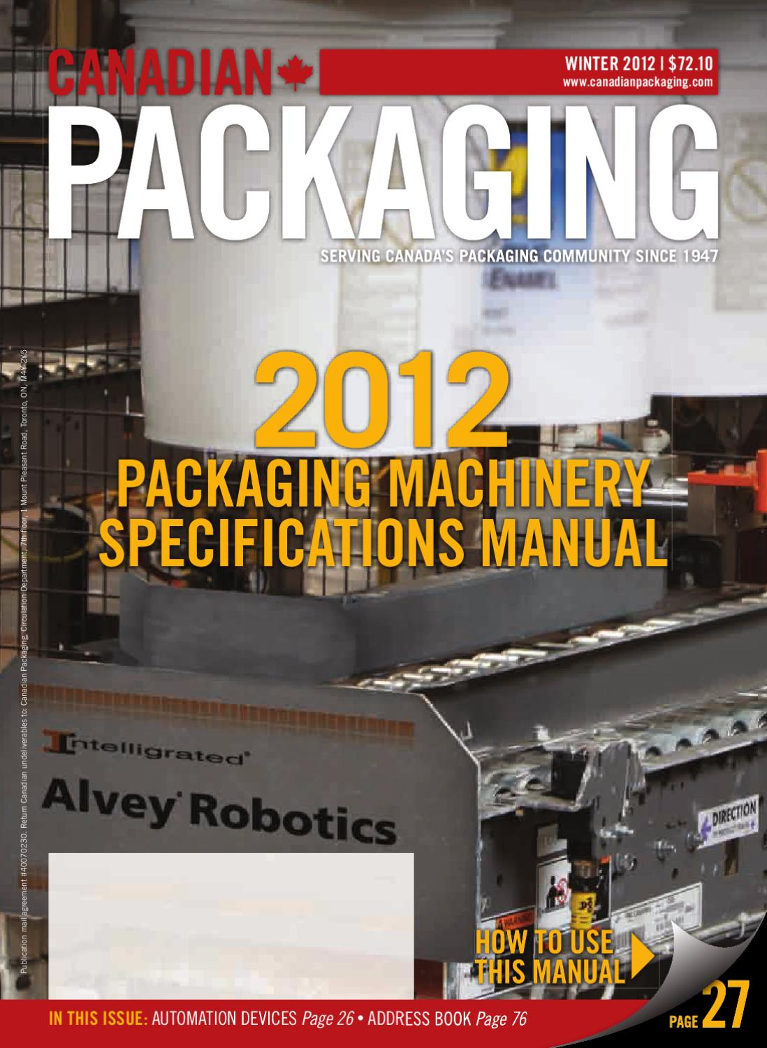 cc2c349fdd5 Canadian Packaging by Annex Business Media - issuu