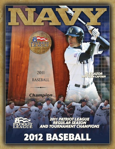 0c6a43f49e87 2012 Baseball Guide by Naval Academy Athletic Association - issuu