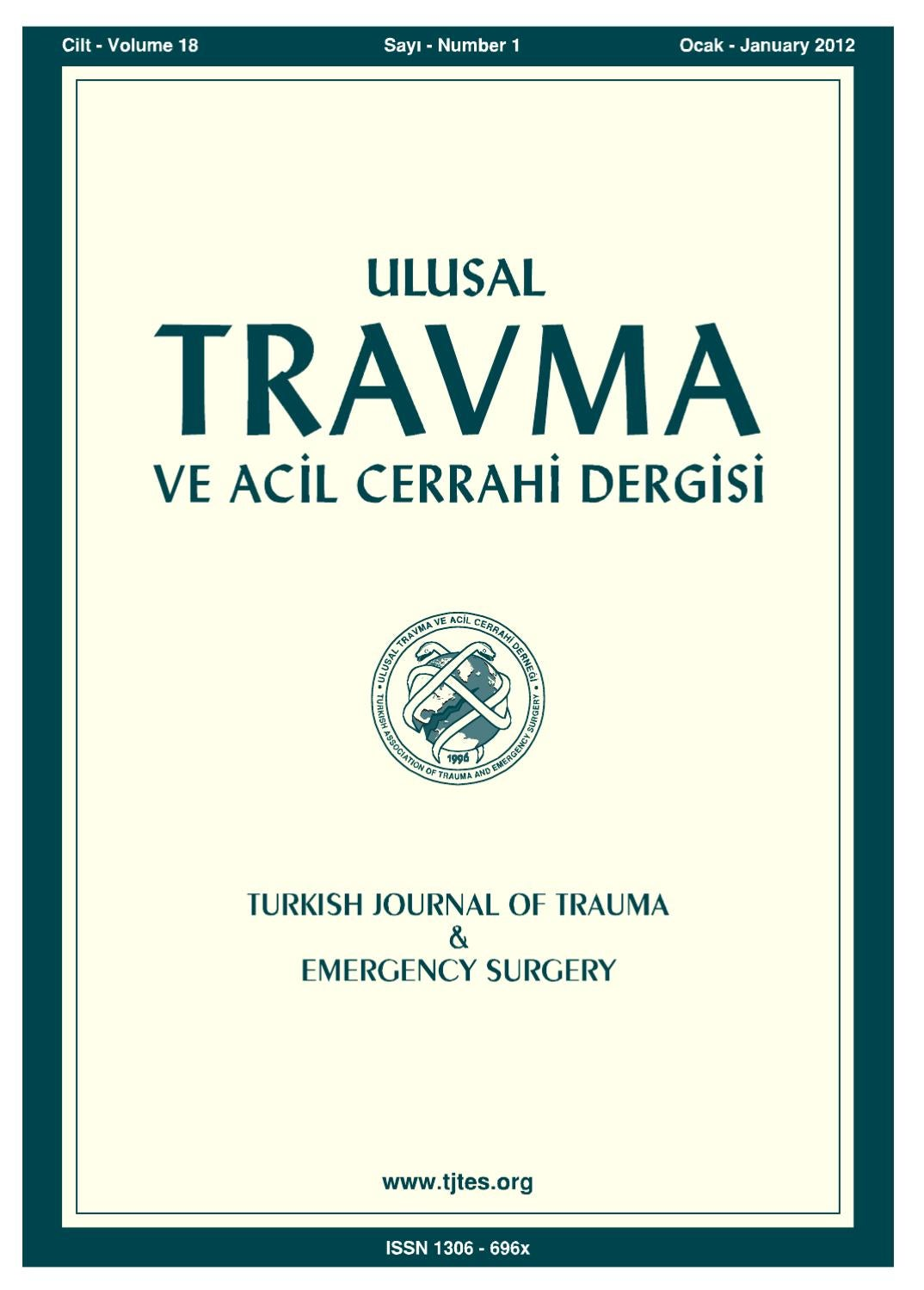Travma 2012 1 By Karepublishing Issuu