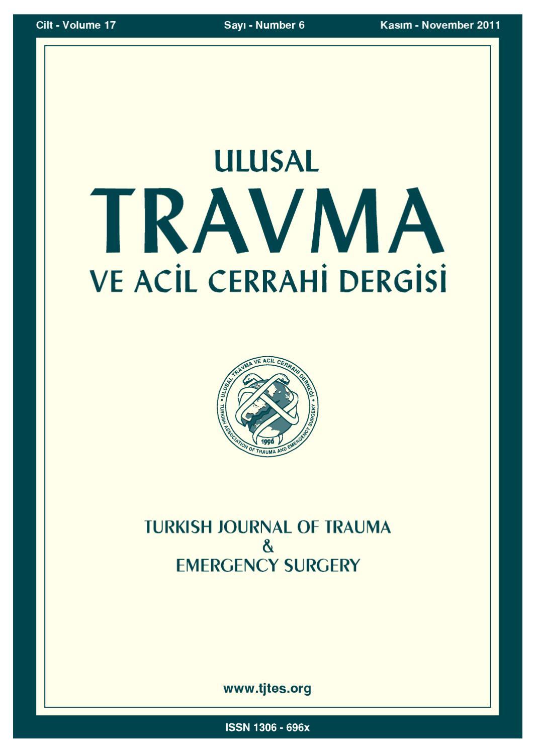 Travma 2011 6 By Karepublishing Issuu