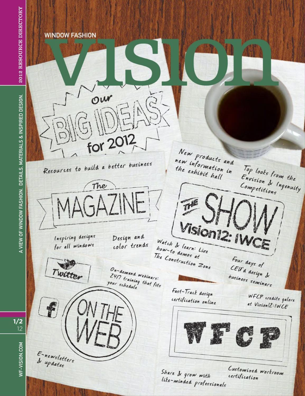 WFV Jan Feb 2012 By Window Fashion Vision Magazine