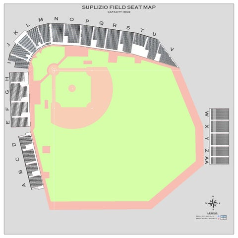 Suplizio Field Seat Map by Landon Balding - issuu