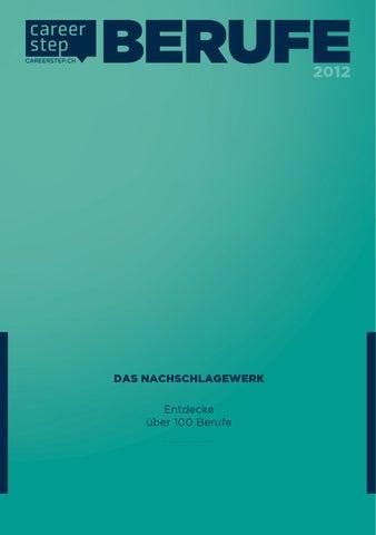 Careerstep Berufe 2012 by Universum - issuu