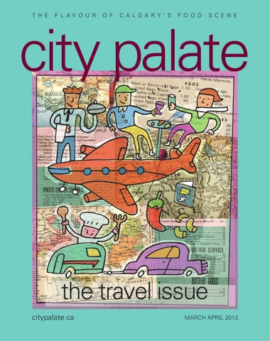 City Palate March April 2012 By
