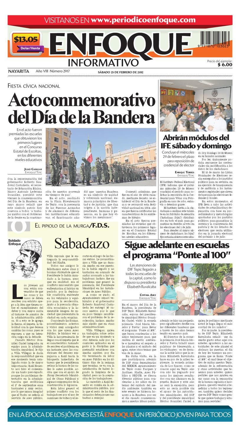 Local25022012 By Periódico Enfoque Issuu