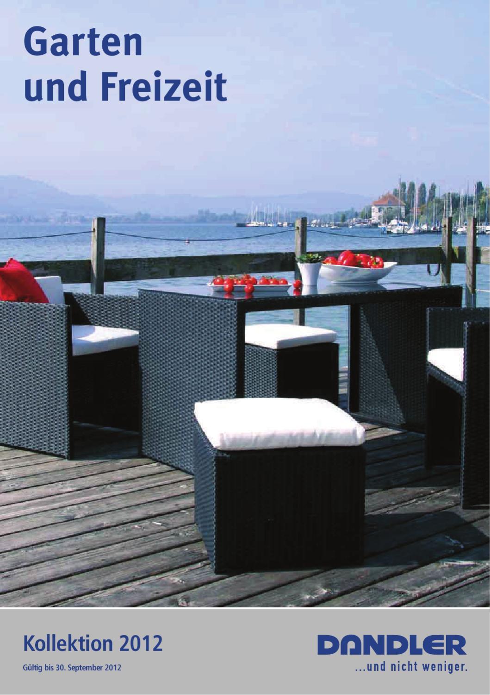 gartenm belkatalog dandler by jan hunziker issuu. Black Bedroom Furniture Sets. Home Design Ideas
