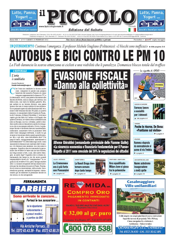 newest de12c 60e25 Il Piccolo Giornale di Cremona by promedia promedia - issuu