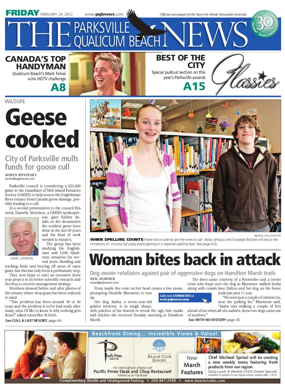 Parksville Qualicum Beach News Friday, February 24, 2012 by