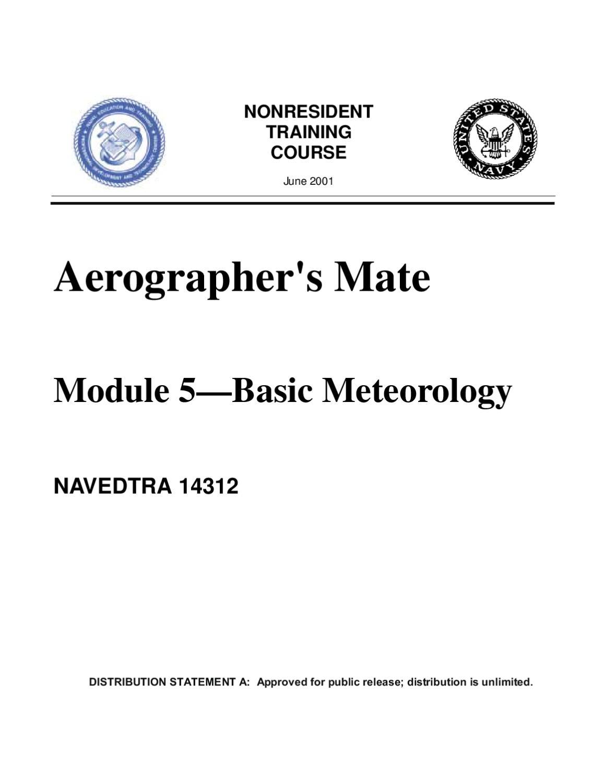 Aerographer's Mate - Basic Meteorology By Lee McDermot - Issuu