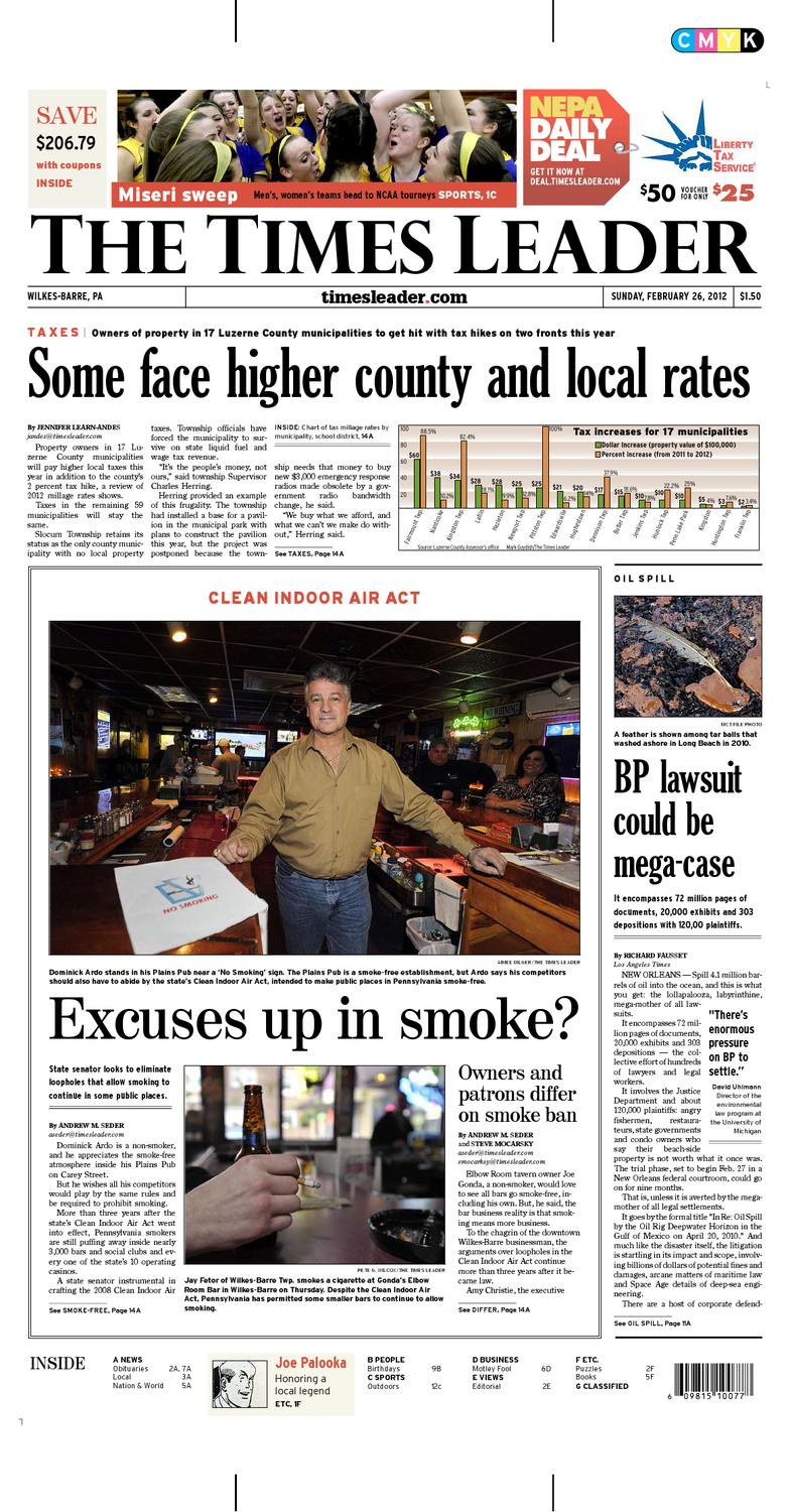 Times Leader 02-26-2012 by The Wilkes-Barre Publishing Company - issuu e02bdc375