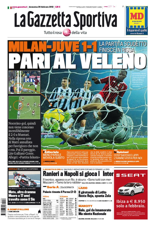 Gazzetta dello Sport 26 2  9277d84a913e