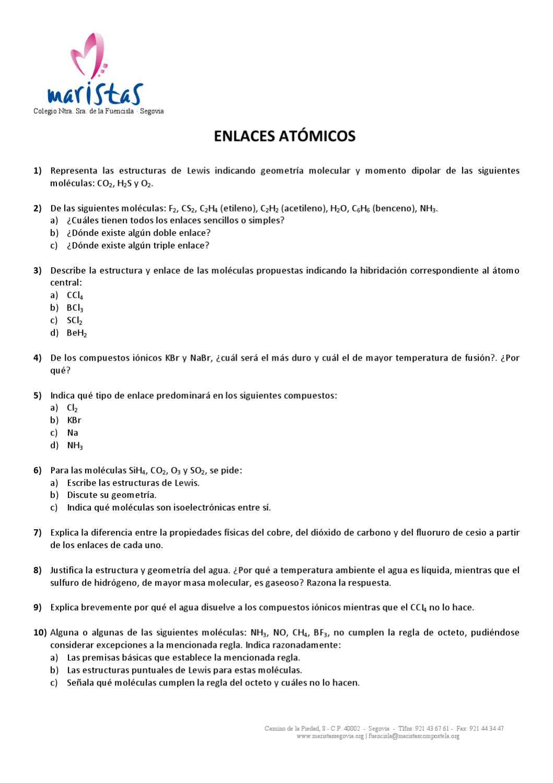 4 Enlaces Atómicos By Alvaro Pascual Sanz Issuu