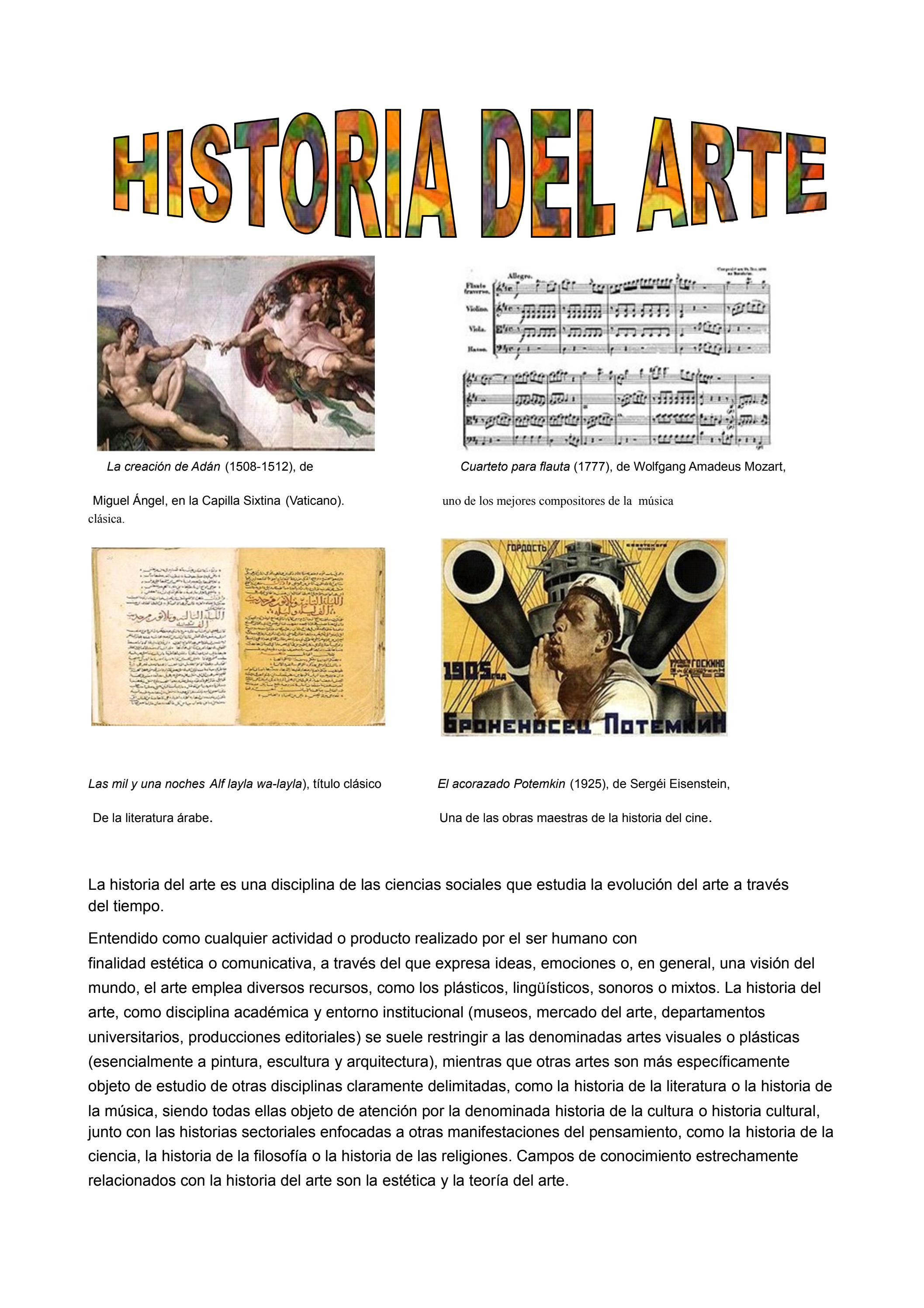 Historia del arte by Velásquez Maria - issuu