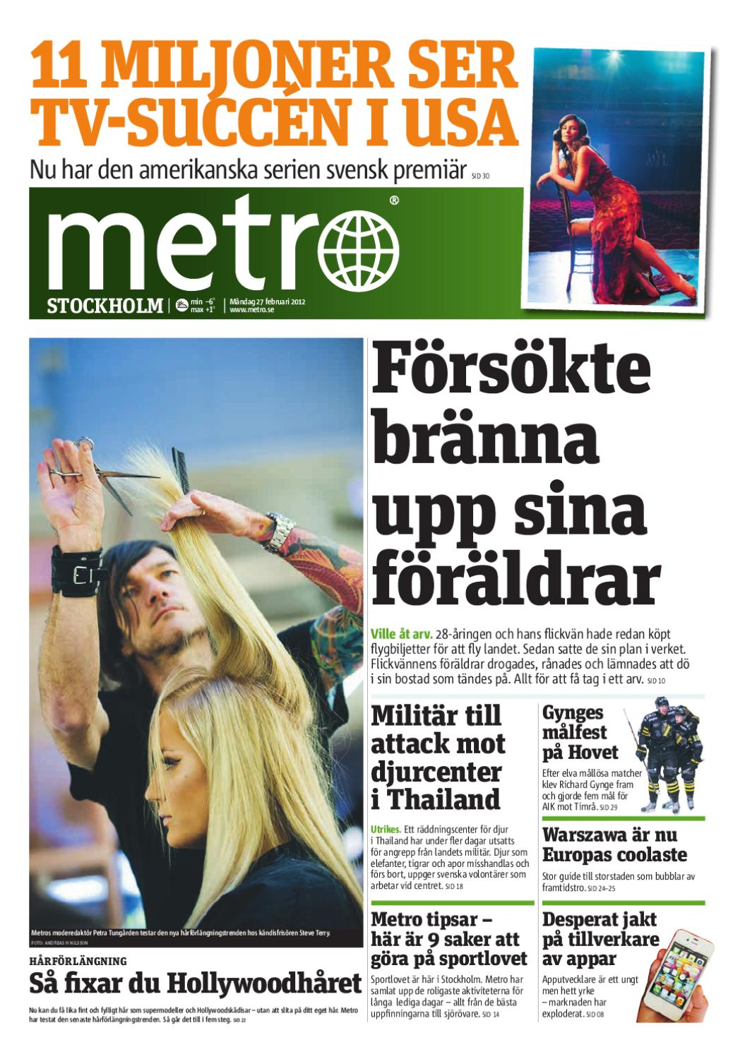 20120227 se stockholm by Metro Sweden - issuu 1e6c5ade0a95d