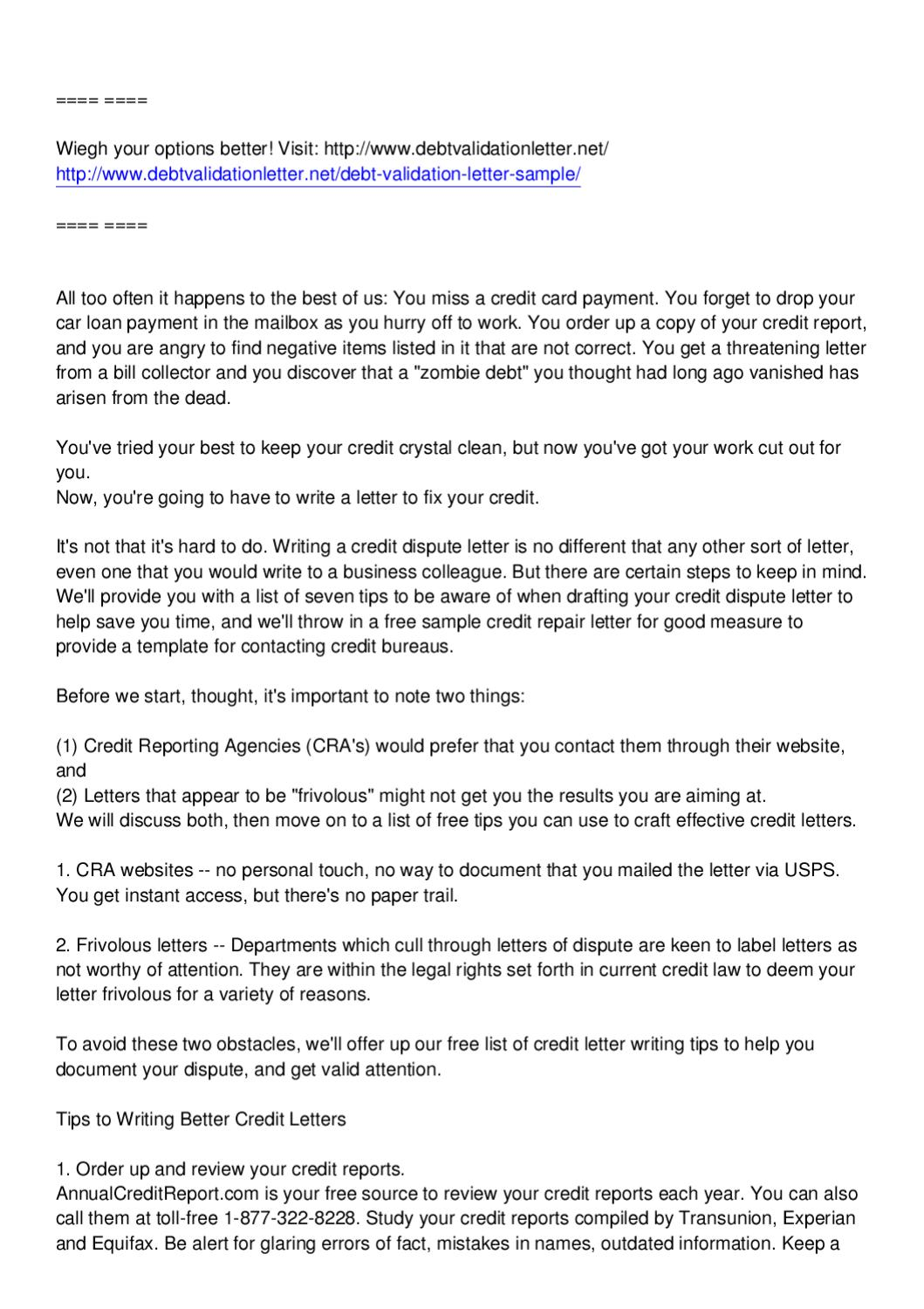 debt validation letter writing a debt validation letter by stella 21325 | page 1