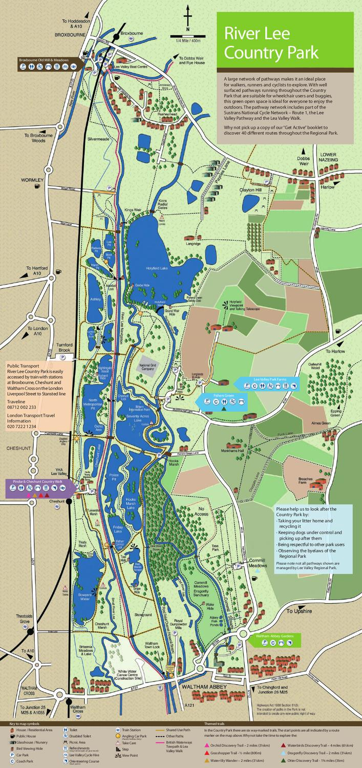 MAP RLCP by Lee Valley Regional Park Authority issuu