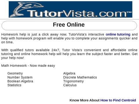 homework help free online