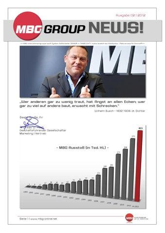 MBG News Ticker Ausgabe 02 2012 by MBG International Premium Brands ...