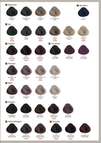 Evolution Of The Color By Alfaparf Milano Issuu
