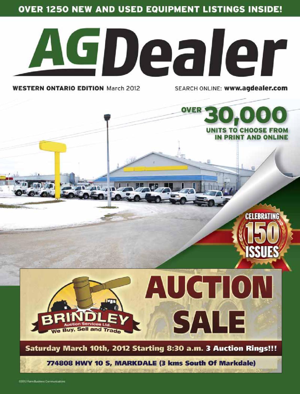 AGDealer Western Ontario Edition, March 2012 by Farm