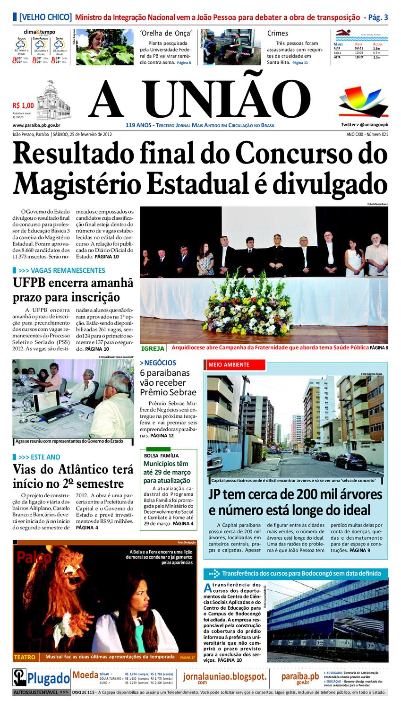 786177224f Jornal A UNIÃO by Jornal A União - issuu