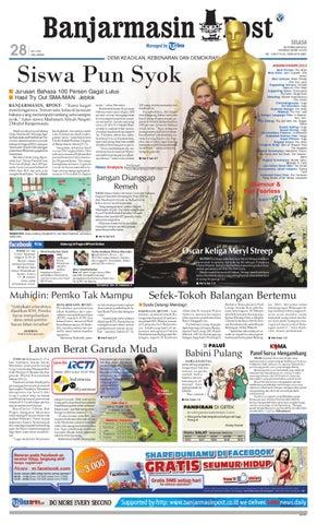 Banjarmasin Post edisi cetak Selasa 28 Februari 2012 by Banjarmasin ... 313b4689cd
