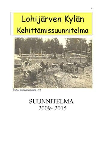 Lohijarven Kylasuunnitelma By Raimo Viiri Issuu