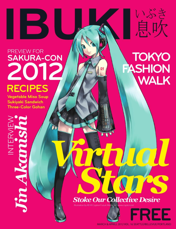 Ibuki Magazine 16 Virtual Stars By Ibuki Media Issuu