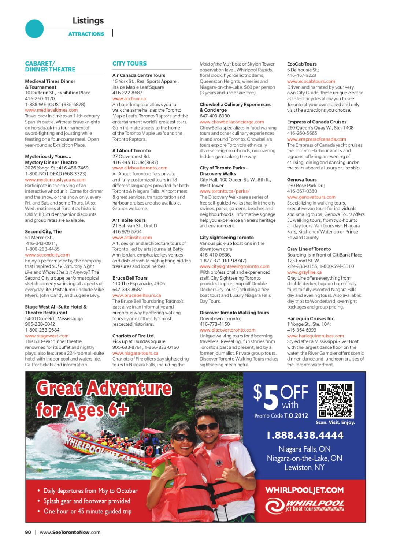 Toronto guide hotel version by spafax issuu m4hsunfo