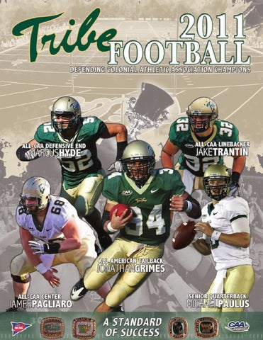 0dbb2018f 2011 W M Tribe Football Virtual Guide by College of William and Mary ...