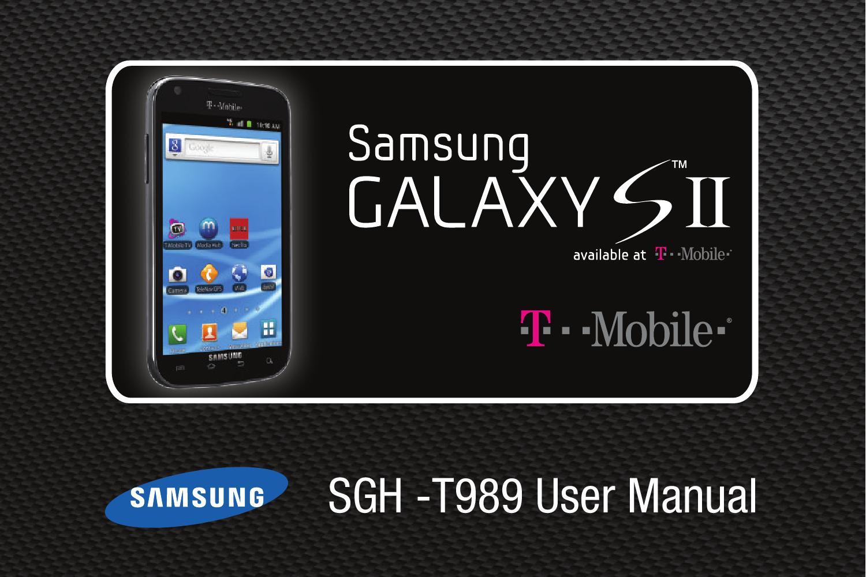 samsung t mobile sgh t989 galaxy s ii user manual by samsung mobile rh issuu com Samsung Galaxy S2 T989 White Samsung Galaxy S2 T989 Case