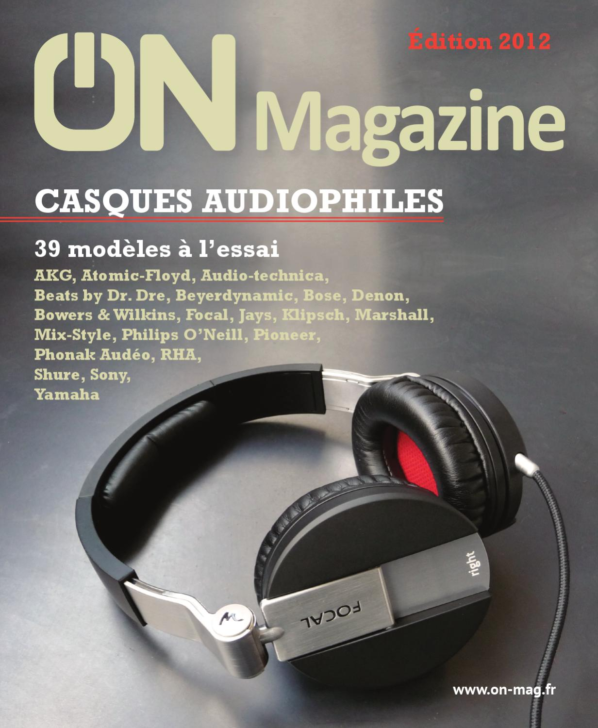 On Magazine Guide Casques Audiophiles 2012 By On Magazine Issuu