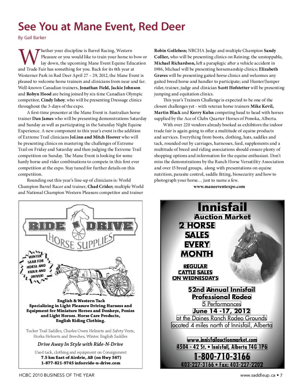 Saddle Up March 2012 by Saddle Up magazine - issuu